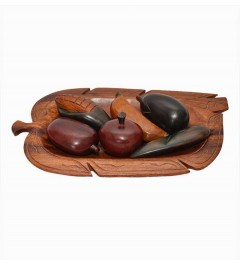 Plateau de fruits en bois